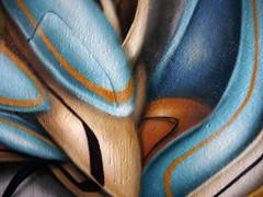 detail (mrzero) Tags: streetart detail art wall effects graffiti 3d paint hungary eger letters tunnel spray colored graff cfs hepi mrzero