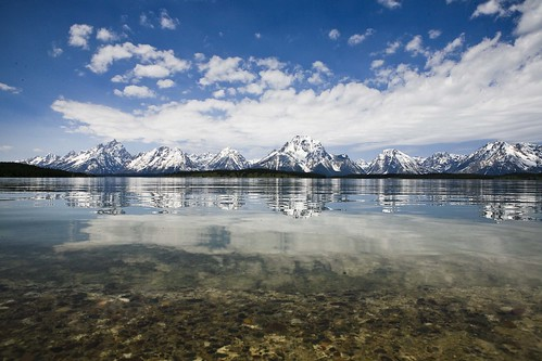 water view - teton national park