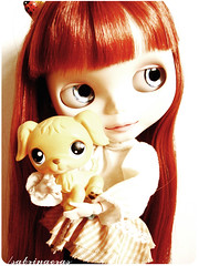 Candy (Sabrina Eras) Tags: bigeyes candy blythe redhair obitsubody modmolly