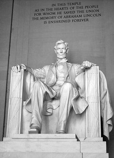 Lincoln Memorial statue, From FlickrPhotos