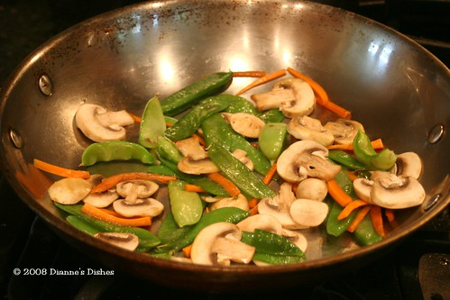 Vegetable Stir Fry: Vegetable Cooking