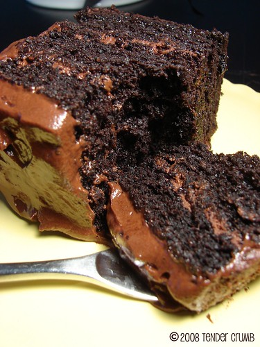 TENDER CRUMB: Double Chocolate Layer Cake - aka THAT Chocolate Cake