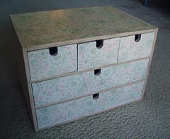 knitting tool storage drawer
