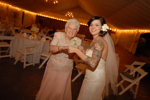 nanny and me dancing