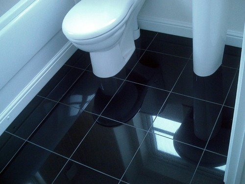 sleek - Bathroom Flooring Ideas