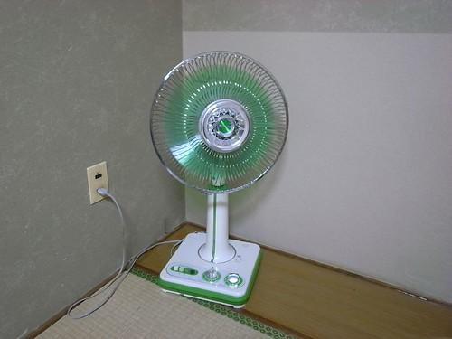 久違的電風扇