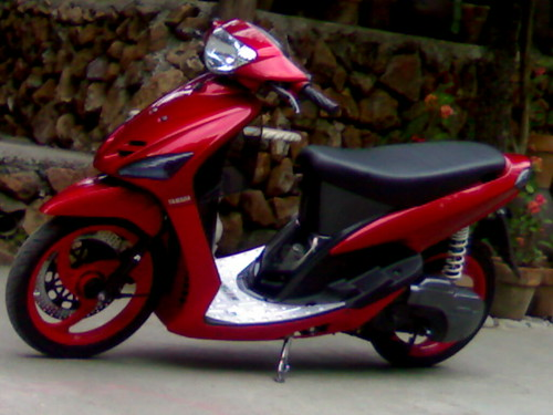 Red Yamaha Mio