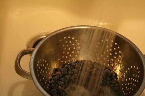 new: berries, sink