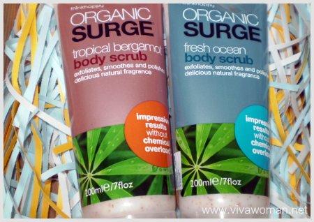 Organic Surge Body Scrub