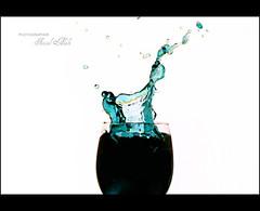 Splash (Faisal | Photography) Tags: white black cup speed canon eos 50mm  ii splash f18 2008 ef faisal alali golddragon 400d mywinners abigfave platinumphoto goldstaraward jediphotographer