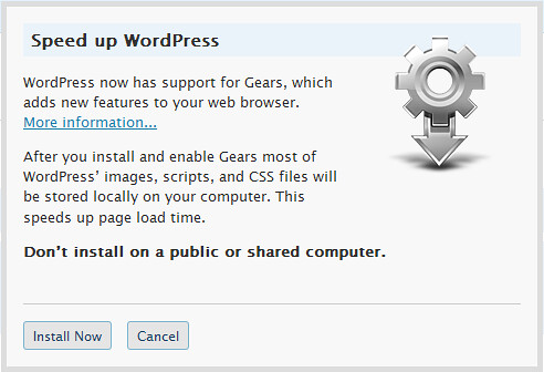 WordPress 2.6 Features