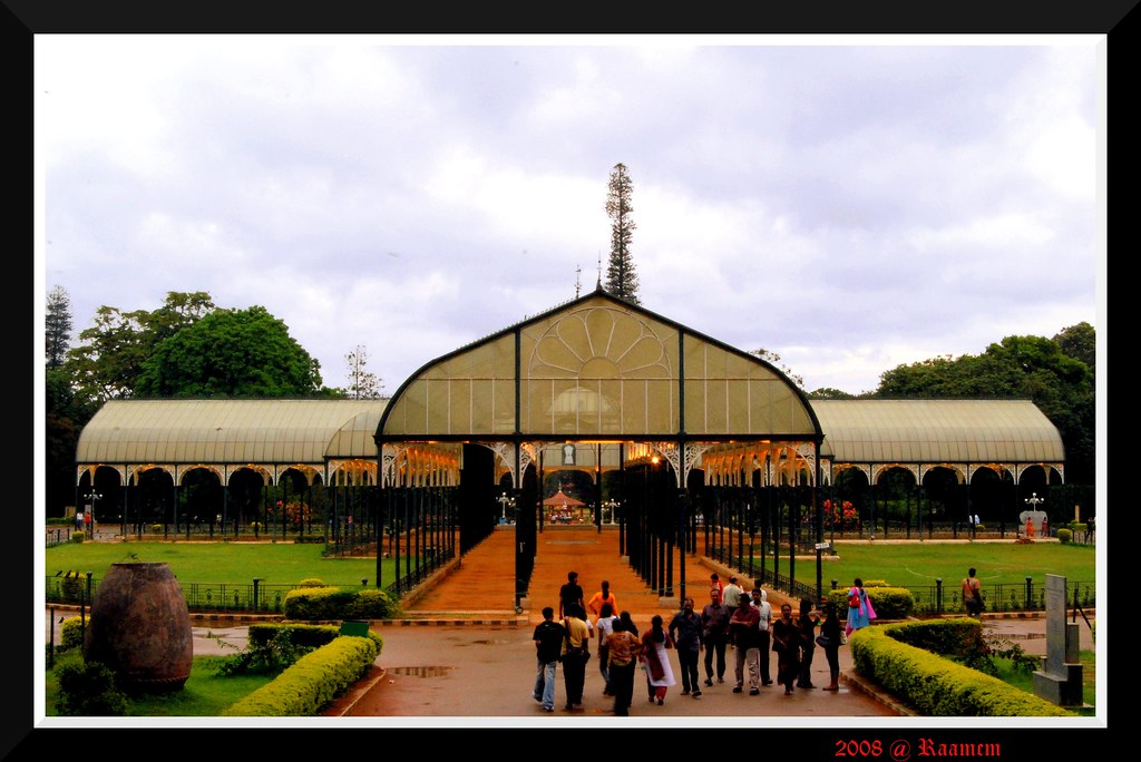 Bangalore Lalbagh Glass house
