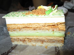 Bouchon Bakery: Key lime millefeuille (another view)