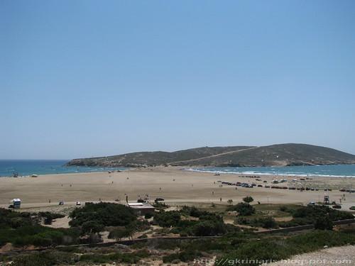 Prassonissi beach