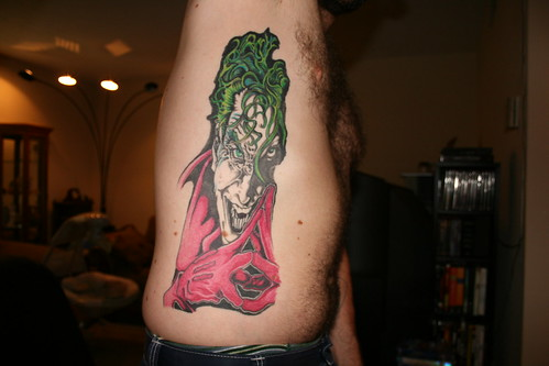 Joker ses 3 Joker tattoo by Eric
