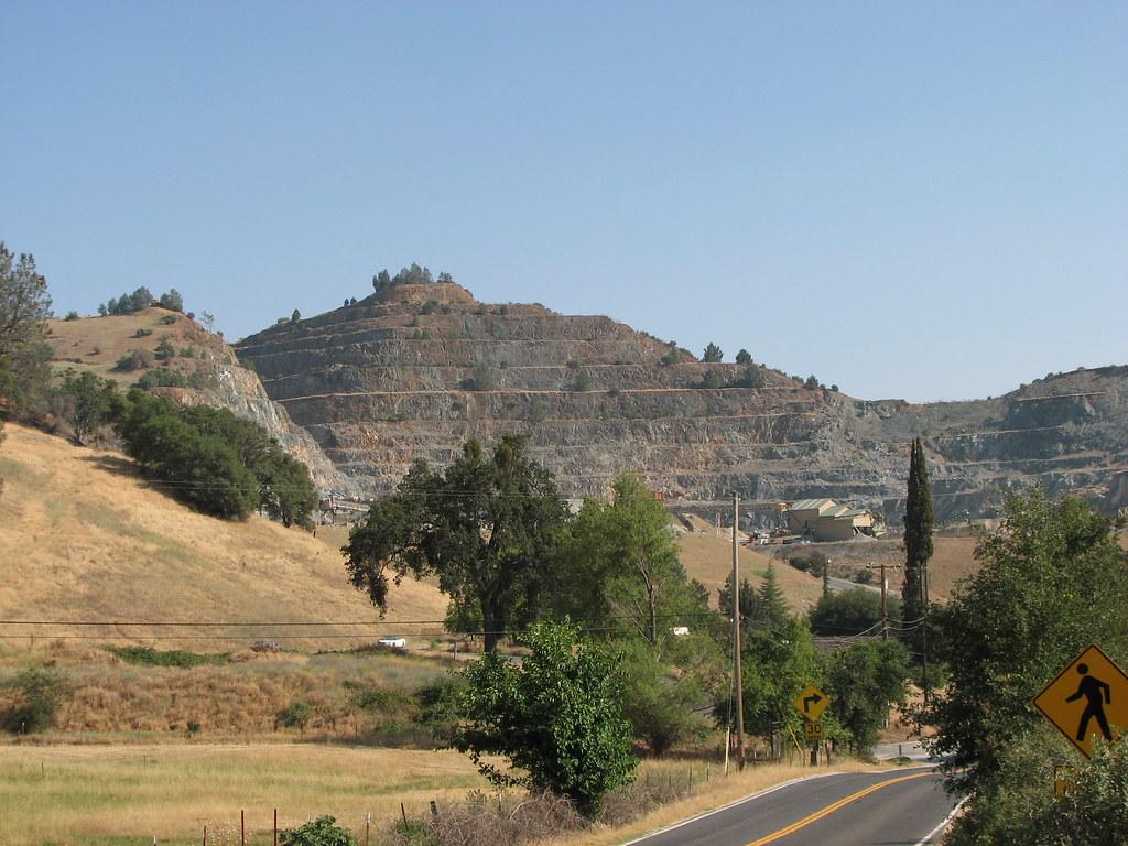 Carson Hill, California - Open Pit Gold Mine
