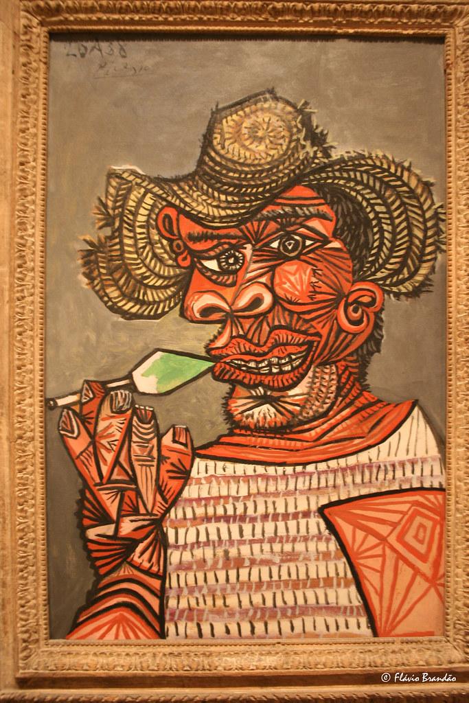 Man with a lollipop - Pablo Picasso - Série de Nova Iorque: o Museu de Arte Metropolitan - New York's series: The Metropolitan Museum of Art - IMG 20080727 8854
