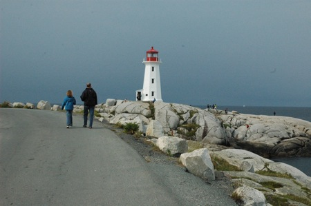 Emma, Mark, and the lighthouse