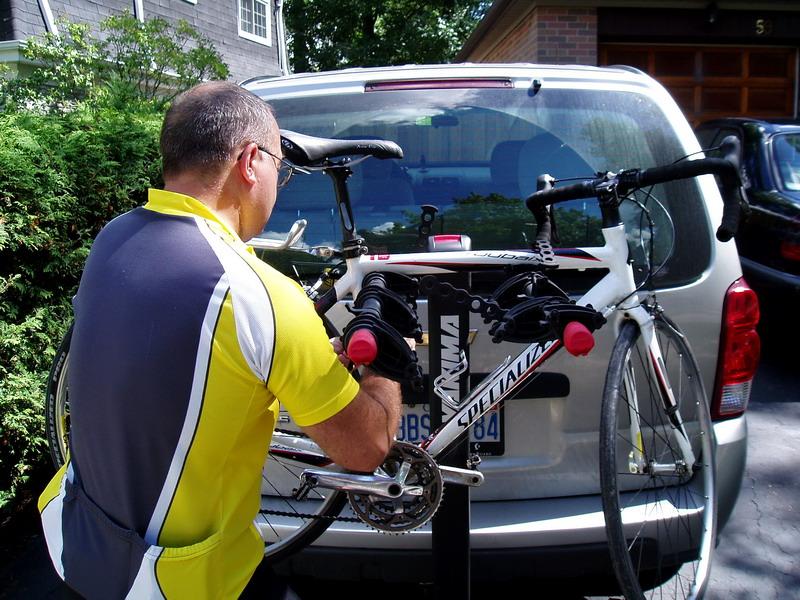 Mounting a Bike