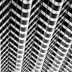 Stick Together (Thomas Hawk) Tags: sanfrancisco california blackandwhite bw usa architecture blackwhite unitedstates fav50 geometry 10 unitedstatesofamerica fav20 symmetry financialdistrict som fav30 fav10 444marketstreet fav25 fav40 skidmoreowingsandmerrill superfave shakleeterrace