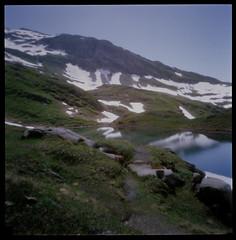 Bachalpsee (ocelots) Tags: mountains holga pinhole hills 120mm swissalps berneseoberland bachalpsee