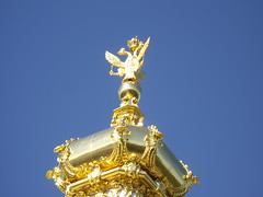 Double-headed Eagle on East Chapel (VincciWincci) Tags: statue stpetersburg eagle russia peterhof eastchapel