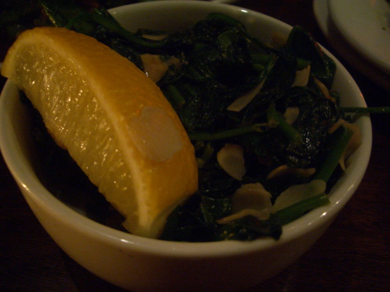 Basque spinach