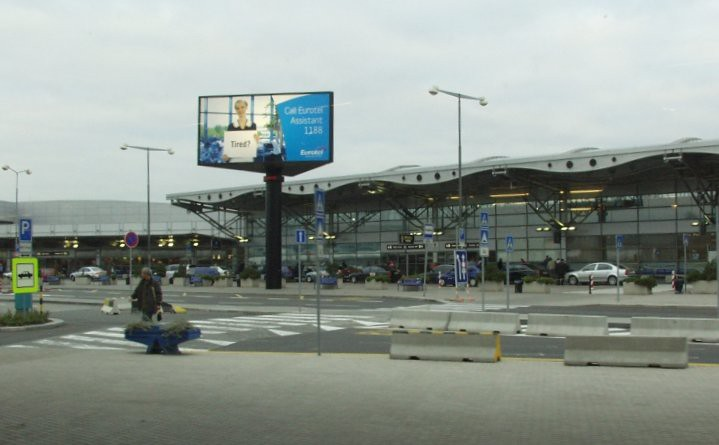 Prague airport, Czech Republic
