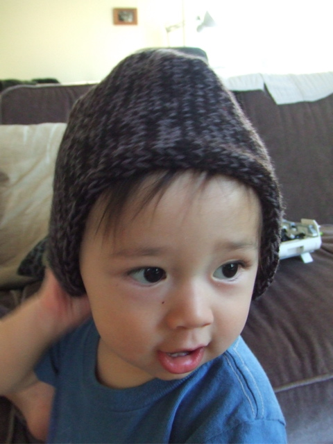 Mieko MIntz Manly Hat for Baby