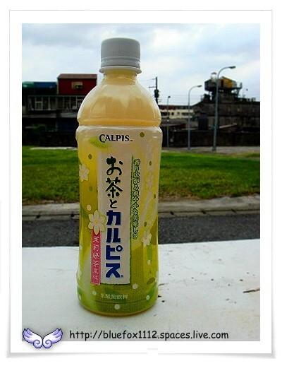 080821母校小旅行24_國立台灣藝術大學-茉莉綠茶風味的可爾必思