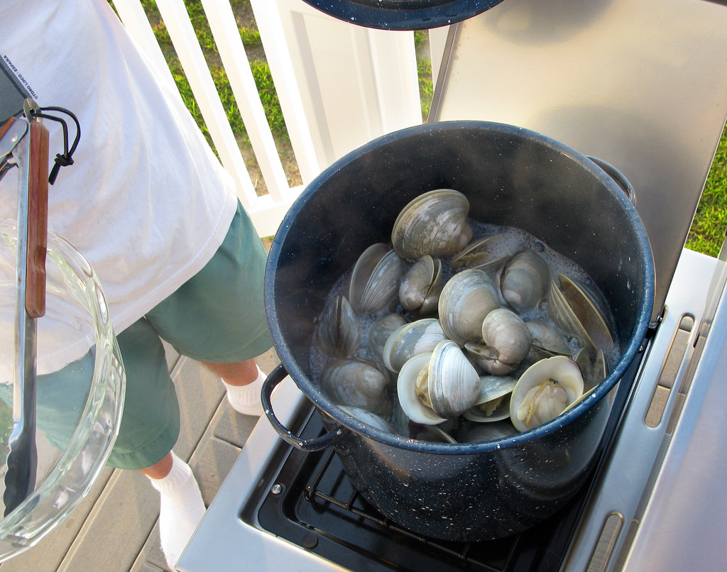 Clams and Clamming