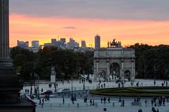 Place du Carrousel at the Louvre (jver64) Tags: paris france louvre ladefense placeducarrousel jardinducarrousel carrouseldulouvre canon40d louvreoutlook