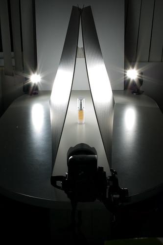 拍攝光線設定