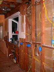 Sink Wall Wiring