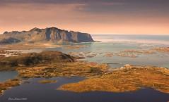 Part of Vestvgy island, Lofoten (steinliland) Tags: ocean sea seascape mountains lofotenislands lofote laandscape steinliland alemdagqualityonlyclub