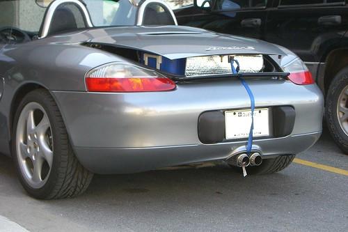 Pique-nique en Porsche Boxster S pik-nik