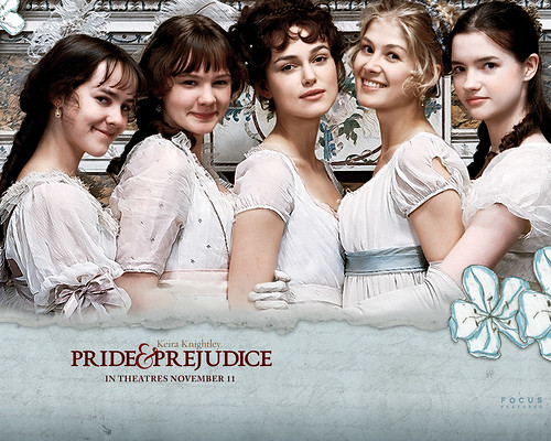 Keira Knightley in Pride and Prejudice, wallpapers
