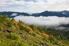 平山と屏風岳
