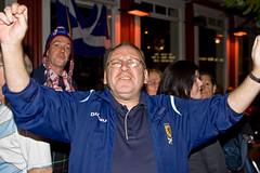 Happy, happy Scot (olikristinn) Tags: people army happy scotland iceland football kilt faces soccer scottish reykjavik have tournament international national match fans kilts reykjavk celebrating scots tartan sporran invaded tartanarmy sporrans theirassoff goddamnscots