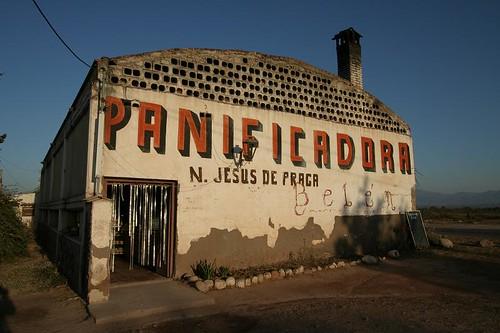 Bakery in La Viña, Salta Province - Argentina.