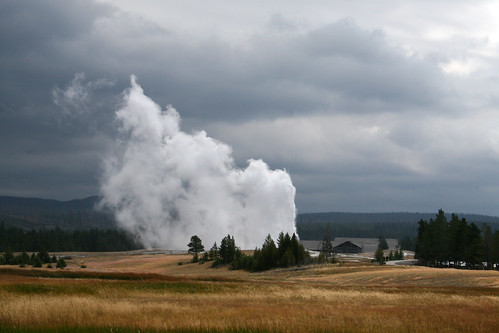 Old Faithful - from a different angle