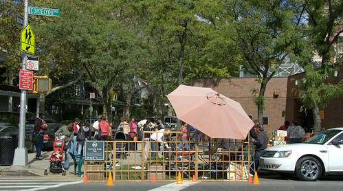 Cortelyou Road Park, Park(ing)Day NYC 2008
