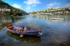 Noss Mayo HDR (Simon Vogt) Tags: creek boats nikon september devon 2008 hdr nossmayo sigma1020mm pleasedwithit