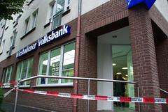 Bombenalarm nach Banküberfall 23.09.08