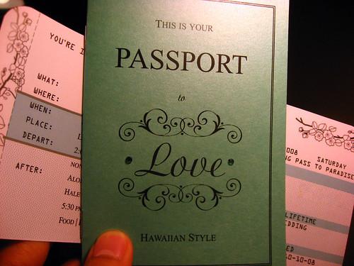 Passport Wedding Invitations Wedding Invitations