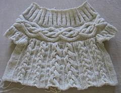 Gedifra_aran_sweater-before_frogging (diusha) Tags: wool sweater cable aran pullover gedifra