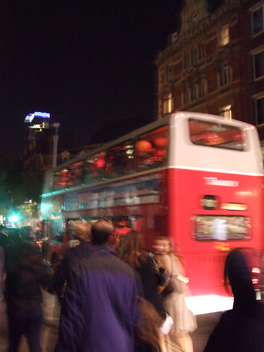 Party Bus on Charing Cross Road