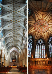 York Minster - 'Vertical Panorama' (tj.blackwell) Tags: york england building church stone architecture construction worship europe cathedral britain stonework mason religion gothic christian minster eurp decorated dioceseofyork