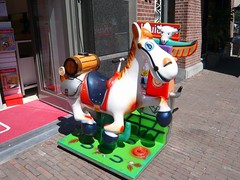 Kiddy Ride - Donkey Tequila a (oerendhard1) Tags: street girls boys shopping children fun happy coin ride machine donkey kiddy tequila colourful