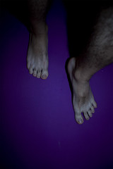 walking on a sky made of amethyst (Stefano Libertini Protopapa) Tags: sky muro love feet wall walking purple floor hole upsidedown courtney violet made cielo barefoot bologna amethyst piedi lecce stefano stefo sott libertini protopapa stefanolibertiniprotopapa